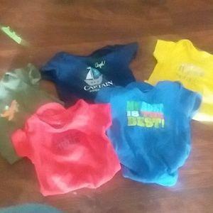 Bundle of carters 6-9 month onesies